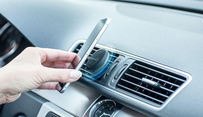 Jetzt magnetische Smartphone-Halterung bestellen!